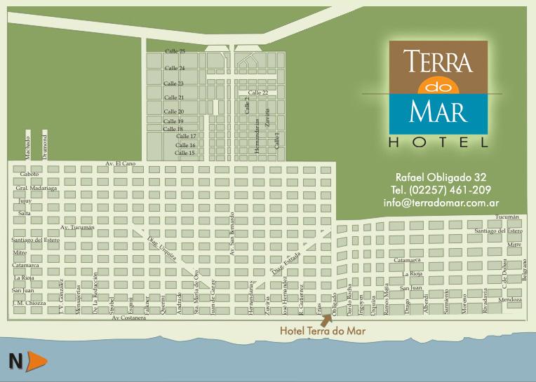 Terra Do Mar Hotel San Bernado Costa Atlantica Buenos Aires